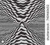 waveform background. dynamic...   Shutterstock .eps vector #740460652