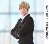 portrait of businessman | Shutterstock . vector #74052298