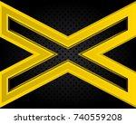 abstract metallic background .   Shutterstock . vector #740559208