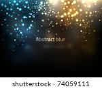eps10 vector abstract blur | Shutterstock .eps vector #74059111