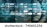 business innovation as an... | Shutterstock . vector #740601256