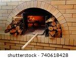 Traditional Pizza Oven  Burnin...