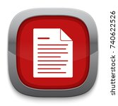 document icon | Shutterstock .eps vector #740622526