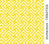seamless geometric pattern.... | Shutterstock .eps vector #740637316