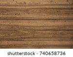 grunge wood pattern texture... | Shutterstock . vector #740658736