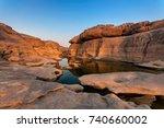 sampanbok ubon ratchathani... | Shutterstock . vector #740660002