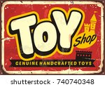Toy Shop Or Toy Store Vintage...