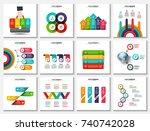big collection of vector arrows ...   Shutterstock .eps vector #740742028