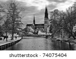 Uppsala Cathedral  Sweden ...