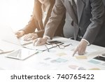 business consulting concept... | Shutterstock . vector #740765422