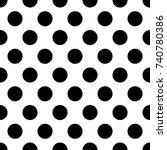 white seamless texture. vector... | Shutterstock .eps vector #740780386
