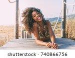 Beautiful Young Black Woman...