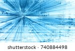 abstract background element.... | Shutterstock . vector #740884498