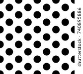 white seamless texture. vector... | Shutterstock .eps vector #740895886
