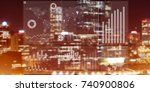 background conceptual image... | Shutterstock . vector #740900806