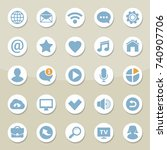 set of universal web icons for...