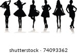 vector illustration set of...   Shutterstock .eps vector #74093362