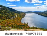 acadia national park   hiking | Shutterstock . vector #740975896