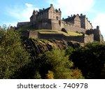 castle on a hill | Shutterstock . vector #740978