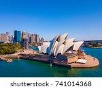 beautiful panorama of the... | Shutterstock . vector #741014368