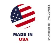 made in usa | Shutterstock .eps vector #741029566