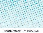 halftone background. comic... | Shutterstock .eps vector #741029668