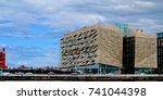 dublin  ireland  24th october... | Shutterstock . vector #741044398