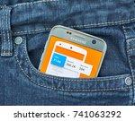 montreal  canada   october 2 ...   Shutterstock . vector #741063292