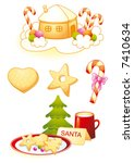 christmas | Shutterstock .eps vector #7410634