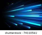hi   tech background | Shutterstock .eps vector #74110561