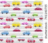 Automotive Seamless Pattern...