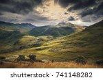 Peaks Of Snowdonia Hills In...