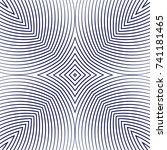 seamless guilloche vector... | Shutterstock .eps vector #741181465