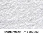 texture white cotton towel... | Shutterstock . vector #741189802