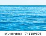Beautiful Sky And Blue Ocean O...