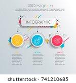 presentation business... | Shutterstock .eps vector #741210685