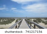 Tybee Island Beach Boardwalk