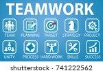 vector illustration. business... | Shutterstock .eps vector #741222562