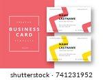 trendy minimal abstract...   Shutterstock .eps vector #741231952