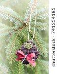 handmade ornament on the...   Shutterstock . vector #741254185