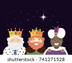 The Three Kings With Christmas...