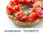 classical frisella tomato ... | Shutterstock . vector #741284572