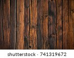 old wooden planks background   Shutterstock . vector #741319672