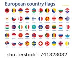 vector illustration set of... | Shutterstock .eps vector #741323032