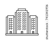 multi storey building linear