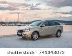 togliatti  russia   june 19 ... | Shutterstock . vector #741343072