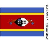 vector illustration swaziland... | Shutterstock .eps vector #741397546