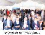 business presentation.... | Shutterstock . vector #741398818