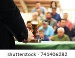 auction  bid sale judgment... | Shutterstock . vector #741406282