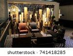 hong kong  hong kong   october... | Shutterstock . vector #741418285